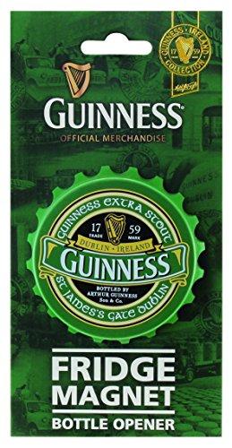 Guinness Green Collection Fridge Magnet Bottle Opener