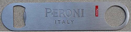 Peroni Italy Embossed logo Stainless Steel Beer Bottle Opener New