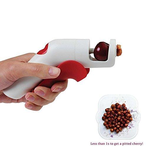 Cherry Olive Pitter Remover Cherry Pitter Pistol Quick and Easy Hawthorn Grape Corer Tool Kitchen gadgets cherries Stoner Anti Splashing Design