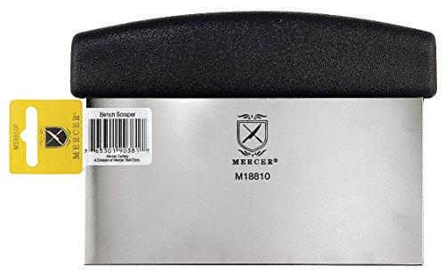 Mercer Cutlery M18810P Millennia Bench Scraper  Dough Cutter