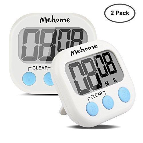 Mehome digital timer Kitchen Timer magnetic kitchen cooking timer for kitchen Cooking Baking 2