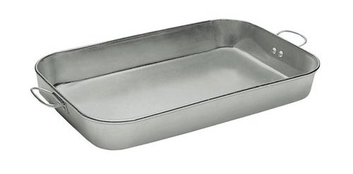 Update International ABP-1826H 18 x 26 Aluminum Roasting Pan w Handles