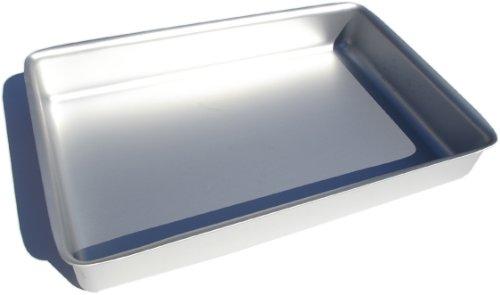 Alan Silverwood 16 x 10 x 25 Silver Anodised Roasting Tray Dish 00263