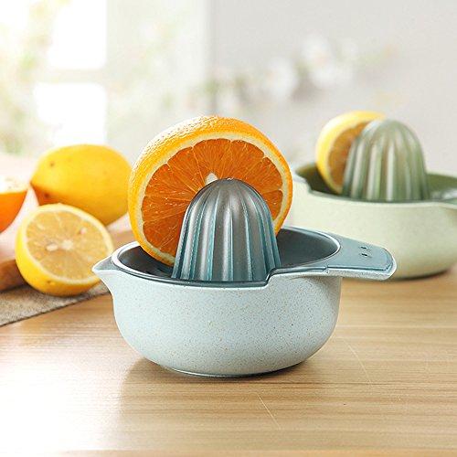 【Wheat Straw Series】Manual Hand Press Citrus Juicer  Fruit Juice Squeezer for Citrus Orange Lemon