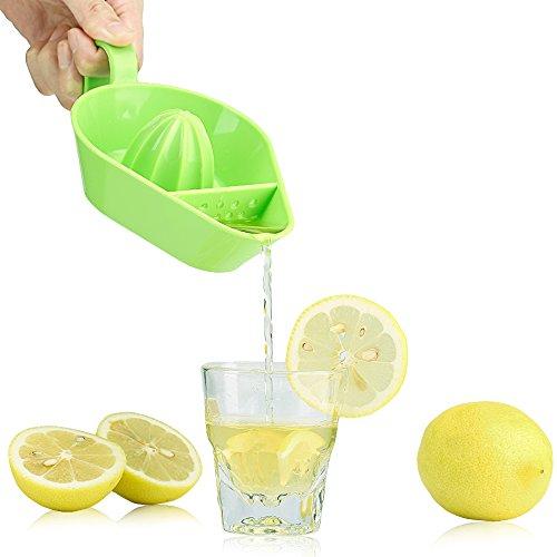 Conbays Citrus Juicer Maker Blender Lemon Orange Tangerine Lime Juice Squeezer Green