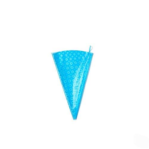 WXLAA 12inch Cake Pastry Bags Reusable Cream Icing Piping Bag DIY Cake Cupcake Decorating Bags Baking Tools Blue