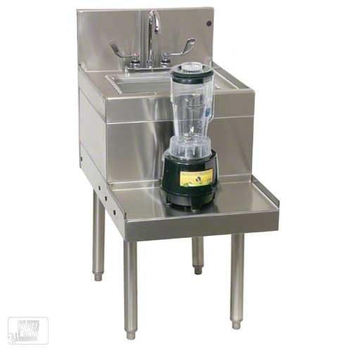 Glastender BSA-14 - 14 Sink Top Blender Station