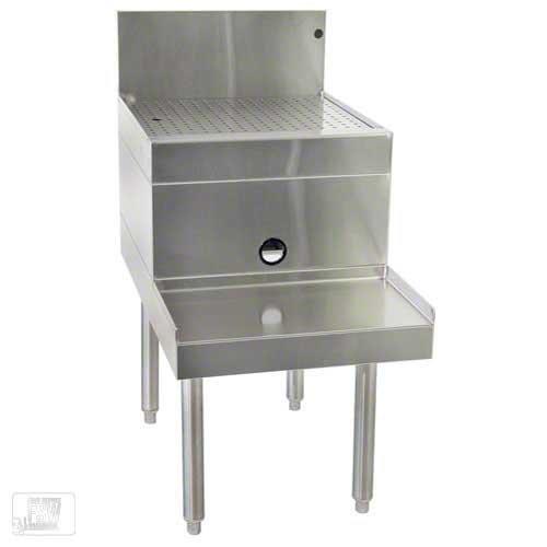 Glastender DBSB-12 - 12 Drainboard Top Blender Station