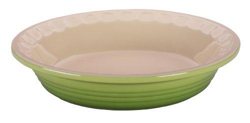 Le Creuset Stoneware Pie Dish 9-Inch Palm