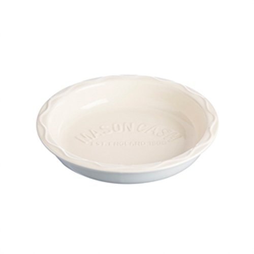 Mason Cash Bakewell Stoneware Pie Dish 9-12-Inches Cream