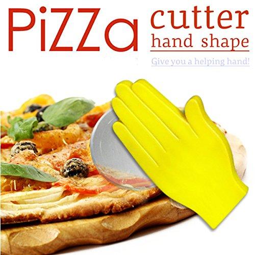 Creative Palm Shape Pizza Slicer Cutter Knife Cake Bread Cutter