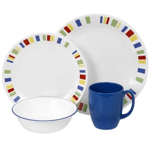 Corelle Livingware 16-Piece Dinnerware Set Memphis Service for 4