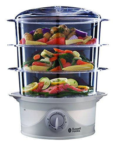 Russell Hobbs 21140 Three Tier Food Steamer 9 L - 800 Watt