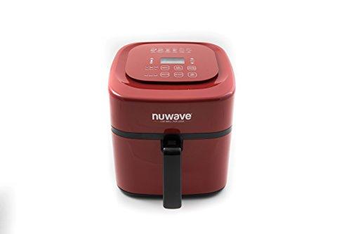 Nuwave 6 qt Brio Air Fryer Red