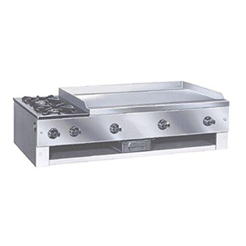 Comstock Castle 10202 Countertop Hot Plate Griddle Combo Unit