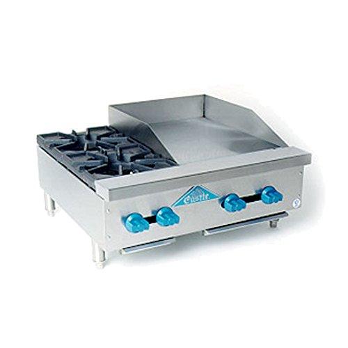 Comstock Castle FHP30-18 Gas Countertop Hot Plate Griddle Combo Unit
