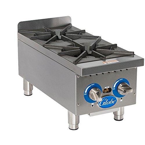 Globe GHP12G Gas Countertop Hot Plates