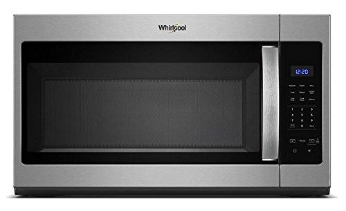 Whirlpool WMH31017HS 17 Cu Ft 1000W Range Microwave Stainless Steel