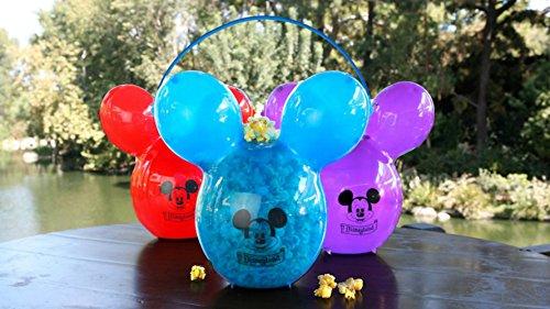 Disney Mickey Collectors Balloon Movie Popcorn Birthday Party Snack Bucket Purple