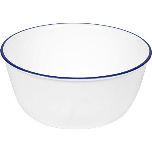 Corelle Livingware 28-Ounce Super SoupCereal Bowl 3 Navy Blue