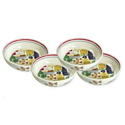 Antipasto Pasta Bowl Set of 4
