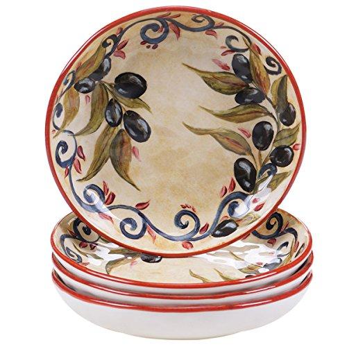 Certified International Umbria 85-inch SoupPasta Bowls Set of 4