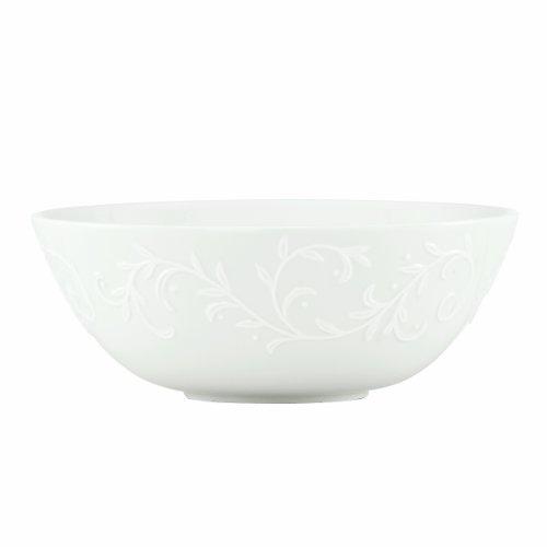 Lenox Opal Innocence Carved 9-14-Inch Medium Serving Bowl