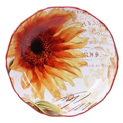 Certified International Paris Sunflower ServingPasta Bowl 13 x 3 Multicolor