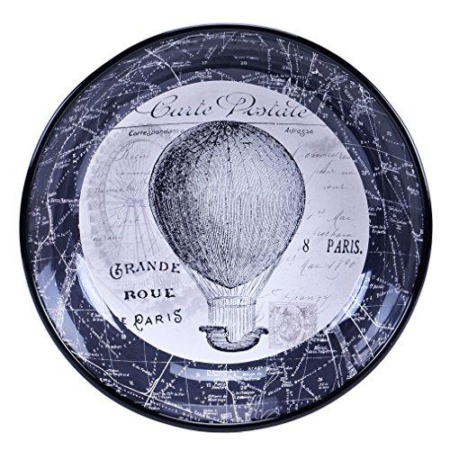Certified International Paris Travel ServingPasta Bowl 1325 x 3 Multicolor