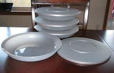 Tupperware Impressions Pasta Serving Bowl Set Silver
