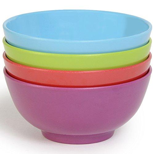 French Bull - Holiday Serving Bowl Set - 4 12 Inch Melamine Bowls - Appetizer  Dessert - Set of 4