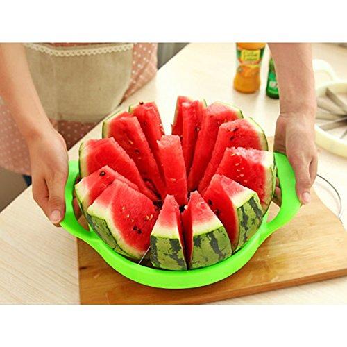 MineDecor Melon Slicer Multifunctional Handheld Round Divider Watermelon Cutter Fruits Cutting Slicing Kitchen Tools
