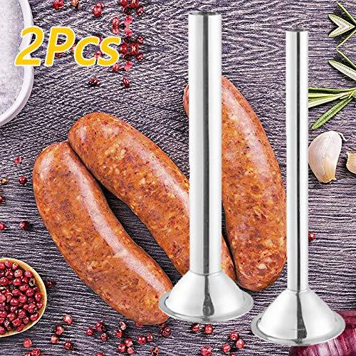 5 Stainless Steel Sausage Stuffer Kit 2pcs