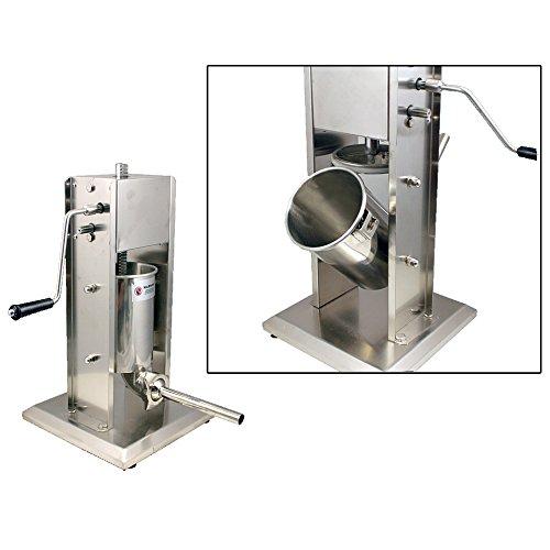 Stainless Steel Sausage Stuffer Vertical machine5L11LB