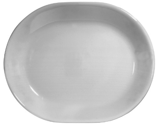 Corelle Livingware 12-14-Inch Serving Platter Winter Frost White