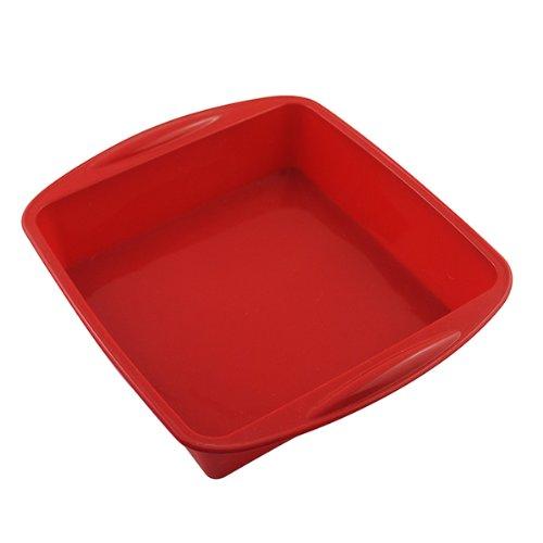 AYAMAYA Square Silicone Cake Baking Pan Nonstick Loaf Pan 10 Inch X 9 Inch 22inch Deep