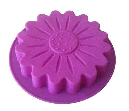 AllforhomeTM Big Sunflower Flexible Silicone Cake Baking Mold Cake Pans DIY Moulds