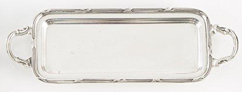 Vagabond Vintage Small Narrow Silver Plated Decorative Trays