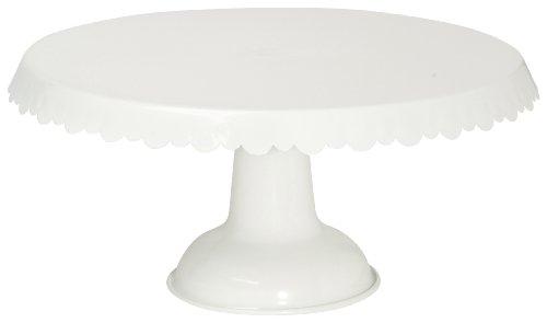 Now Designs Tin Cake Stand White