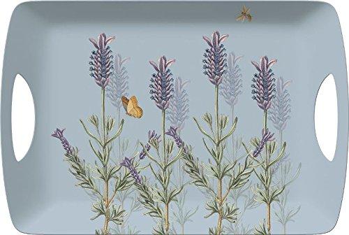 Creative Tops Large Royal Botanic Gardens Kew Lavender Luxury Melamine Serving Tray Multi-Colour