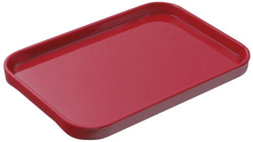 Lustroware K-202 MR Melamine Serving Tray Large Red