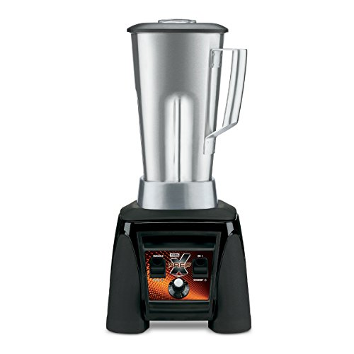 Waring Commercial MX1200XTS Xtreme Hi-Power Variable-Speed Food Blender with Stainless Steel Container 64-Ounce