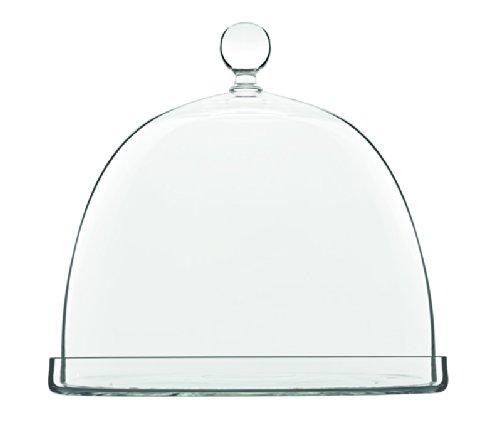 Luigi Bormioli Insieme Cheese Platter with Dome