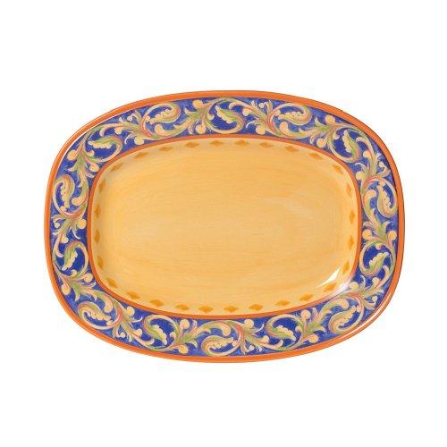 Pfaltzgraff Villa Della Luna Rectangular Serving Platter 12-Inch