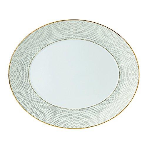 Wedgwood Arris Oval Serving Platter 13