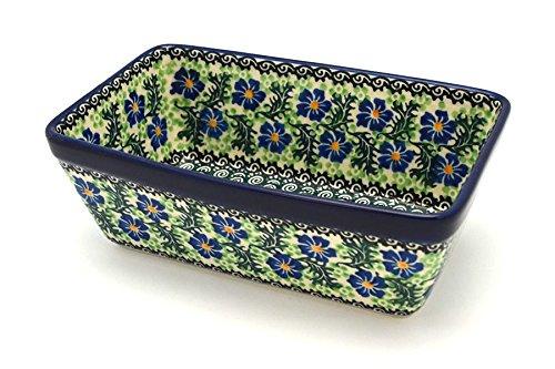 Polish Pottery Baker - Loaf Dish - Sweet Violet