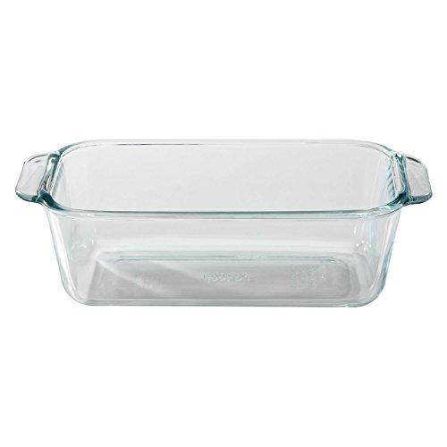 Pyrex 1105394 Basics 15qt Loaf Dish 15 Quart Clear