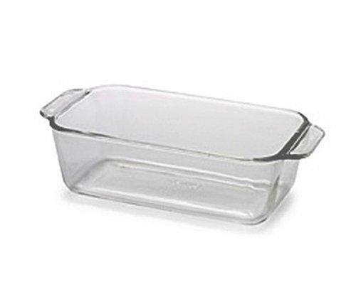 Pyrex Bakeware 1-12-Quart Loaf Dish Clear