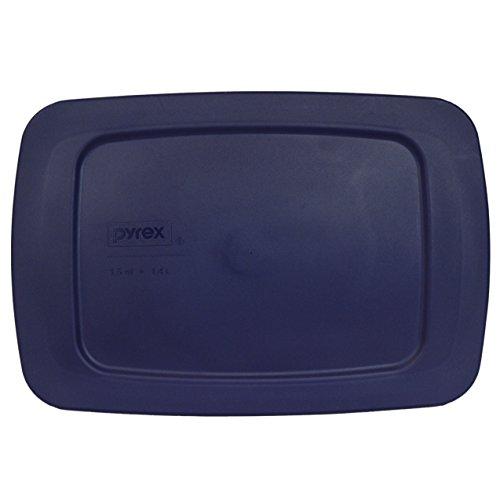 Pyrex Easy Grab - Blue 15 Quart Storage Lid Cover for Loaf Dish