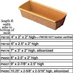 Novacart Paper Loaf Mold - PM178 12Pk